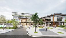 THE POINT | Bright New Office Building With Modern Design
