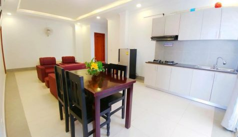 Affordable 2 Bedroom for Rent in Toul Tompong Tumnob Tuek