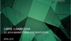 CBRE CAMBODIA | Phnom Penh Marketview 2019 Presentation