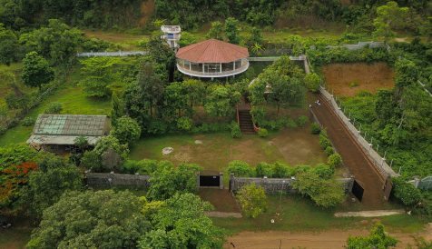 Sea View Villa For Sale on the side Hill in Kep City