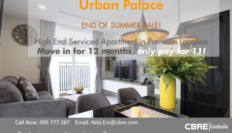 Special Promotion move in September for 2 Bedroom Type at Urban Palace