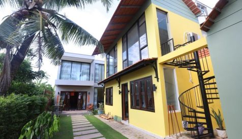 Swimming Pool – 5 Bedroom Townhouse near Phnom Penh Airport For Rent and Sale